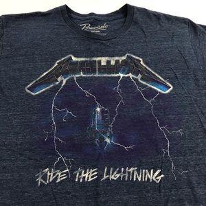 Metallica Ride The Lightning T Shirt Men's L / M